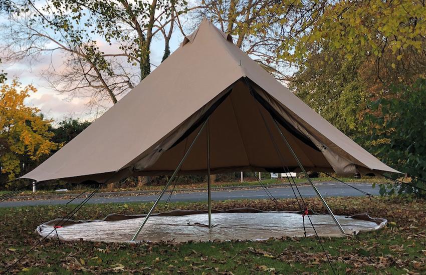 5m Stargazer Bell Tent – Bell Tent Boutique